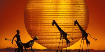 'CIRCLE OF LIFE' - Photo of London Production by Catherine Ashmore  (C) Disney