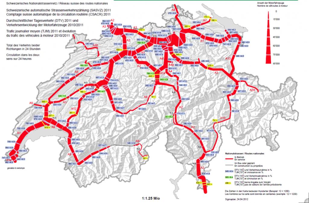 Cartina Autostradale Svizzera.E Un Inganno La Pagina