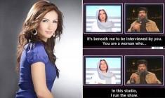 Giornalista libanese eroina su internet